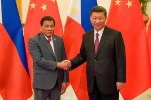 Duterte – Tập Cận Bình: 'Tình nghĩa đôi ta có thế thôi'?