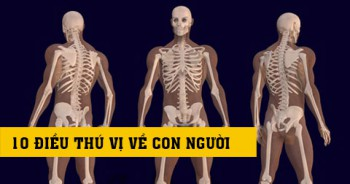 40 sự thật gây sửng sốt về cơ thể con người.