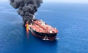 Tàu chở dầu Iran bị trúng tên lửa Ả rập Xê út