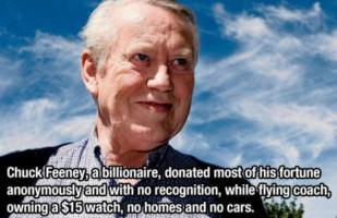 Tỷ phú từ thiện 8 tỷ USD: Sinh ra tay trắng , cuối đời trắng tay