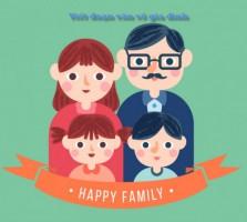 Đề bài: Hãy tả lại công việc hàng ngày của gia đình em.